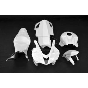 Carena PISTA Completa AVIOFIBRA (Inclusi 10 Ganci Rapidi) HONDA CBR600RR - 2007-2008