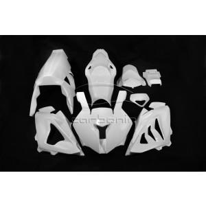 Carena PISTA Completa AVIOFIBRA (Inclusi 12 Ganci Rapidi) BMW S1000RR - 2010-2014  - Scarico OEM