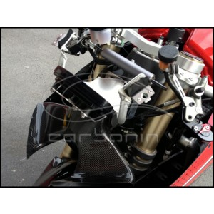 Airbox Inlet Tubes with Tachometer Support CARBON FIBER PANIGALE 1199 - 2012-2013
