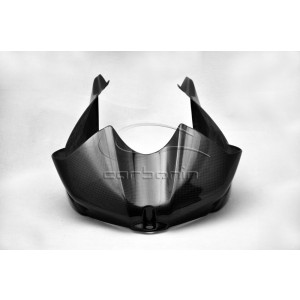 TANK COVER WITH SIDE PANELS CARBON FIBER YAMAHA YZF R6 - 2008-2009-2010-2011-2012